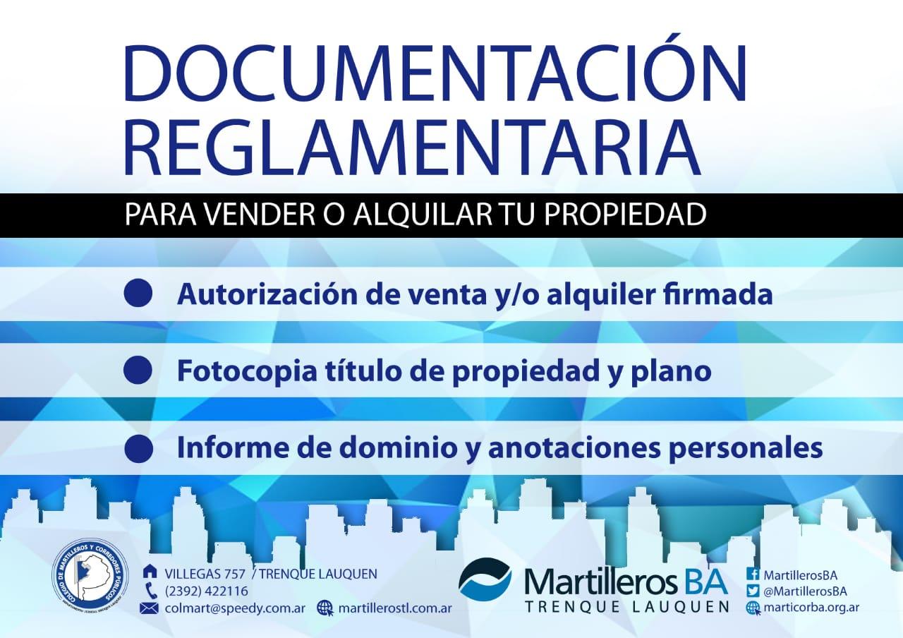 Documentación reglamentaria para vender o alquiler tu propiedad